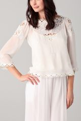 Temperley London Florelle Top - Lyst