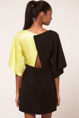 Very By Vero Moda Vero Moda Very Colour Block Open Back Dress - Lyst