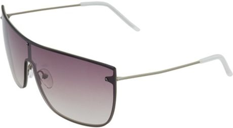 3.1 Phillip Lim Mod Jean Marie Sunglasses in Purple (khaki) - Lyst