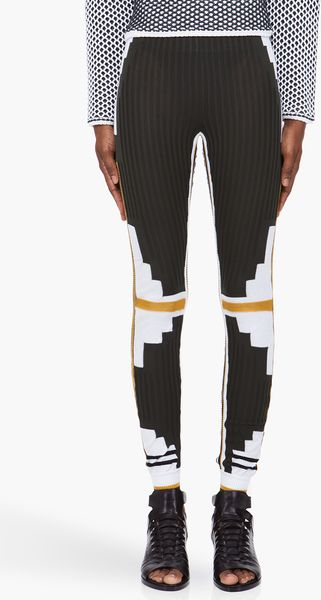 Alexander Wang Athletic Patchwork Leggings - Lyst