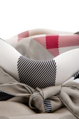 Burberry Check Scarf in Beige - Lyst
