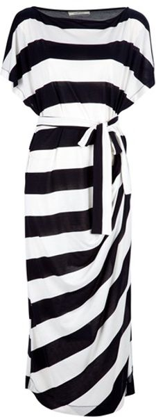 By Malene Birger Takinhi Stripe Dress - Lyst