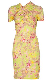 Carven Print Dress - Lyst
