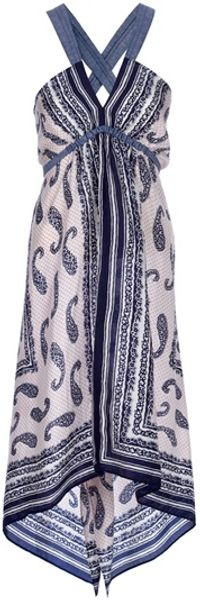 Coast + Weber + Ahaus Scarf Dress - Lyst