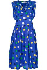 Givenchy Vintage Polka Dot Dress - Lyst