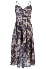 Haute Hippie Take Me Now Dress in Purple - Lyst