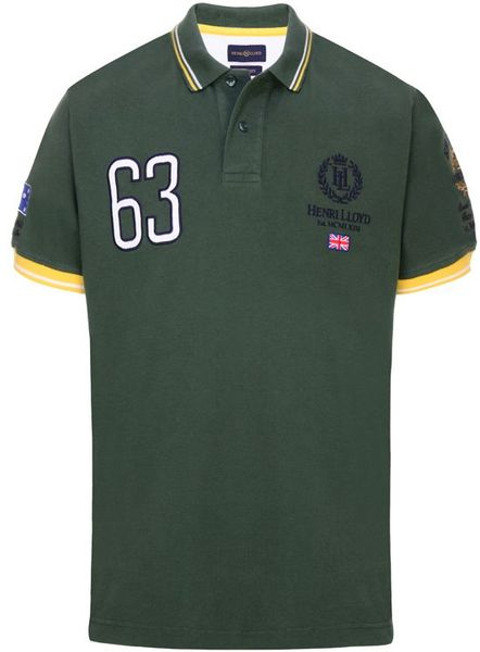 Henri Lloyd Australia  Polo Shirt in Green for Men (forest) - Lyst