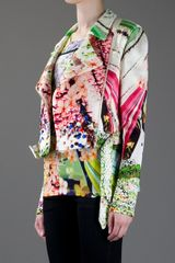 Mary Katrantzou Floral Biker Jacket in Multicolor (floral) - Lyst