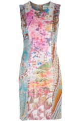 Mary Katrantzou Lurex Knitted Silk Dress