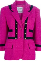 Moschino Vintage Wool Jacket - Lyst