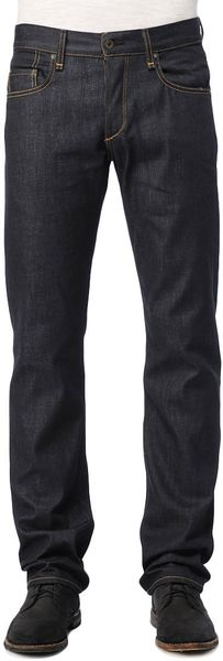 Rag & Bone RB Raw StraightLeg Jeans in Blue for Men - Lyst