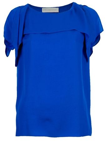 Stella McCartney Slit Sleeve Top - Lyst