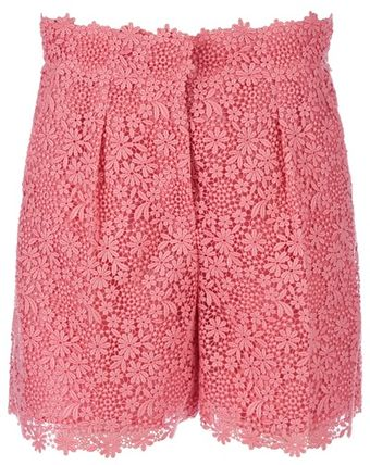 Valentino High Waist Short - Lyst
