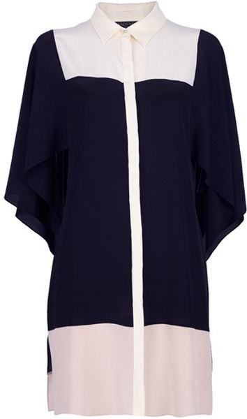 Vionnet Oversize Blouse in Black - Lyst