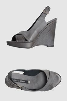 Alberto Fermani Wedge Sandals - Lyst
