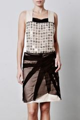 Bottega Veneta Tulle Embellished Dress - Lyst