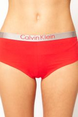 Calvin Klein Calvin Klein Cheeky Logo Short in Cotton in Orange (crocuspetal) - Lyst
