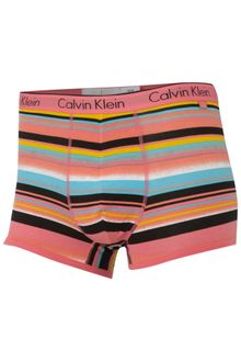 Calvin Klein Stripe Underwear Trunks - Lyst