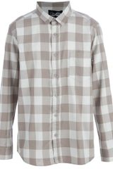 Cheap Monday Neo Shirt in Beige for Men - Lyst