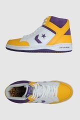 Converse Converse All Star Hightop Sneakers in Yellow for Men (purple) - Lyst