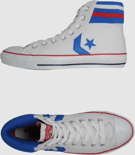 Converse Converse Hightop Sneakers in White for Men - Lyst