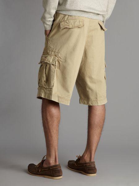 Denim Amp Supply Ralph Lauren Cargo Shorts In Khaki For Men