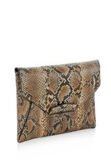 Givenchy Antigona Python Envelope Clutch - Lyst