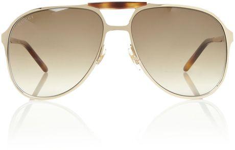 Gucci Gold Sunglasses Men Gucci Mens s Sunglasses in