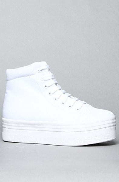 Jeffrey Campbell The Homg Sneaker in White - Lyst