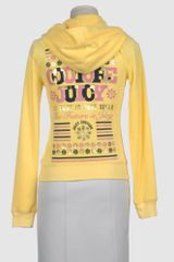 Juicy Couture Juicy Couture Hooded Sweatshirts in Yellow - Lyst