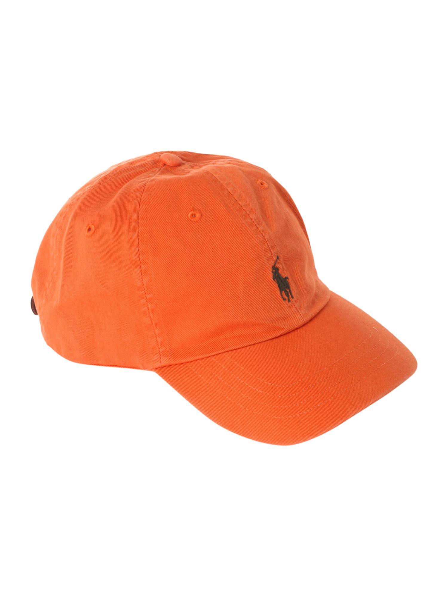 polo ralph baseball cap in orange for lyst