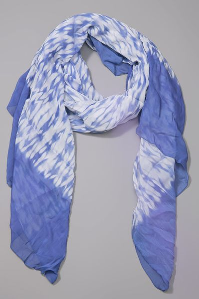 Thakoon Addition Scarf in Blue (navy) - Lyst