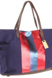 Tommy Hilfiger Th Sparkle Ew Tote - Lyst