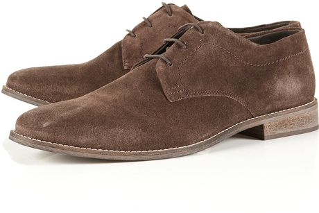 Topman Spartan Gibson Shoes in Brown for Men - Lyst