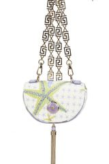 Versace Small Starfish Shoulder Bag - Lyst