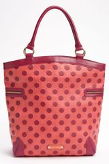 Betsey Johnson Spot On Tote in Purple (fuchsia) - Lyst