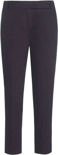Boutique By Jaeger Louisa 78th Trousers in Blue (navy) - Lyst