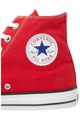 Converse Chuck Taylor All Star Hi Top in Red for Men - Lyst
