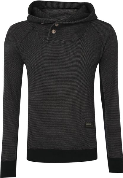Diesel Hooded Sweat in Gray for Men (charcoal) - Lyst