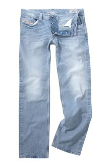 Diesel Larkee Straight Fitted Jeans - Lyst