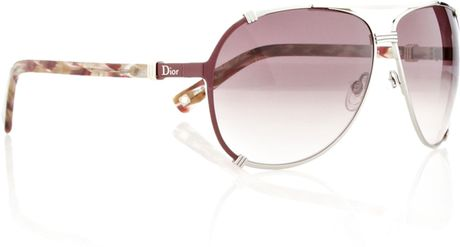 Dior Chicago 2 Sunglasses in Pink - Lyst