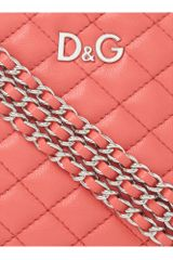 Dolce & Gabbana Quilted Round Mini Shoulder Bag in Pink - Lyst