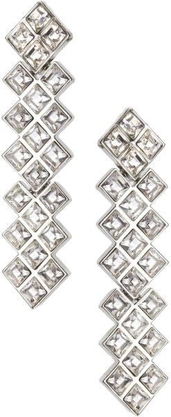 Earring Boutique Gatsby Crystal Drop Earring - Lyst
