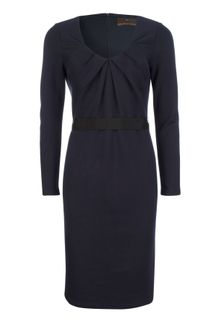 Fenn Wright Manson Structured Belted Jersey Dress - Lyst