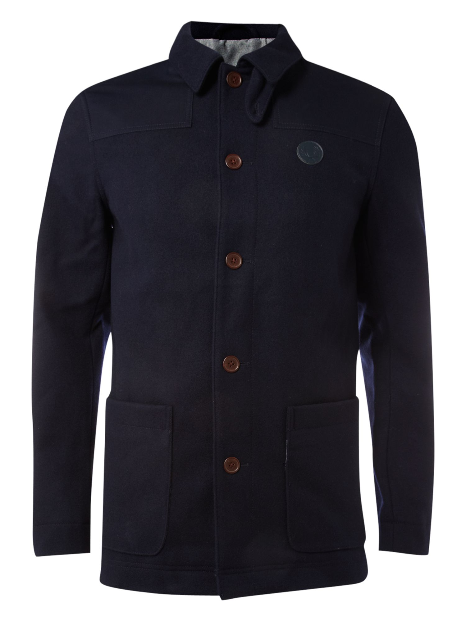 Fred Perry Donkey Jacket In Blue For Men Lyst