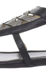 Frye Frye Womens Madison Huarache Thong Sandal in Black (black multi) - Lyst