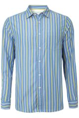 Howick Boston Stripe Shirt - Lyst