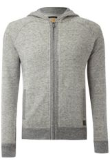 Hugo Boss Hooded Sweat - Lyst