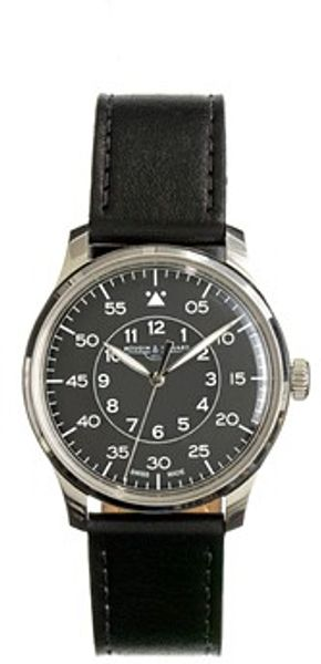 J.Crew Mougin Piquard For Jcrew Grande Seconde Watch in Black - Lyst