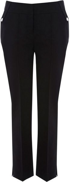 Karen Millen Essential Black Separate Trouser in Black - Lyst